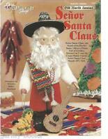 Senor Santa Claus Plastic Canvas Old World Santas Patterns Needlecraft Shop NEW