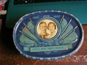 CORONATION 1937 TIN BLUE