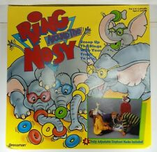 Vintage Ring Around The Nosy Game 1993 by Pressman Complete! Be an Elephant!