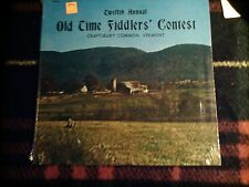"12th ANNUAL OLD TIME FIDDLERS CONTEST CRAFTSBURY VERMONT 12"" 33rpm LP 1974 VG++"