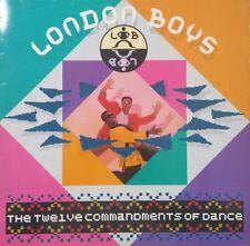 LONDON BOYS The Twelve Commandments Of Dance Vinyl Lp Record 1986 German Press