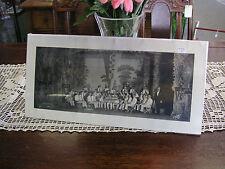 "North Dakota Band 1926 B/W Photograph 18 3/8""x 8 5/8"" B&W Photo #54"