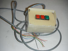 3 Momentary Push Button Switches in Box (4513)