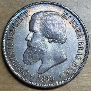 Brazil 1889 2000 Reis; KM-485; UNC (#x1678)