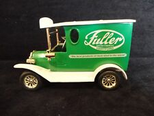 Fuller Brush Company Die Cast Coin Bank with Lock & Key