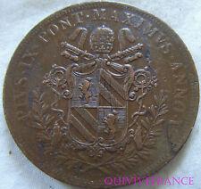 MED6050 - STATO PONTIFICIO - Pio IX - 5 Baiocchi 1850 IV R
