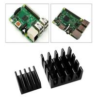2 PC Aluminum Raspberry Pi 3 Heatsink Adhesive Heat Sink Set for RPi 2 3 B A9L7