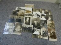 Lot of 24 RPPC-Real Photo Postcards
