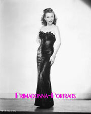 GALE ROBBINS 8X10 Lab Photo 1940s Sexy, Shimmering Tight Elegant Gown Portrait