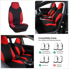 2xSports Style High Back Bucket Car Seat Cover Cushion Mat Interior Accessories