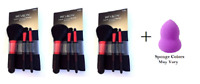 Revlon Starter Brush Kit, Premium (3 Pack) + Makeup Sponge