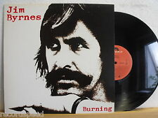 ★★ LP-Jim Byrnes-Burning-Canada POLYDOR 1981-Blues-record in NEAR MINT