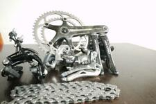 NEAR MINT CAMPAGNOLO RECORD CARBON TITANIUM 10 SPEED GROUPSET IN AMAZING COND
