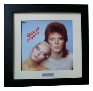 DAVID BOWIE+PIN UPS+Album+LP+Art+GALLERY QUALITY FRAMED+EXPRESS GLOBAL SHIPPING