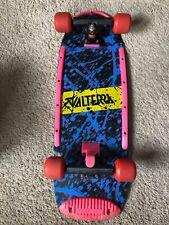Vintage 80's Valterra Back To The Future Marty McFly Skateboard Original