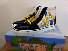 THE SIMPSONS X VANS SK8-Hi The Simpsons Family Portrait Mens Womens NEW Limited