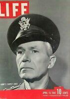 LIFE MAGAZINE APRIL 13 1942