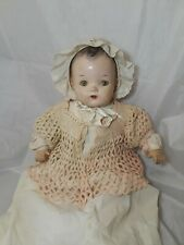 """Vintage Composition Doll  A.B.C Toys  24"""" tall"""