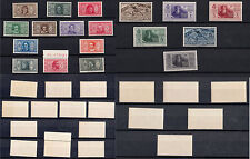 FRANCOBOLLI REGNO 1932 SOCIETA' DANTE ALIGHIERI MNH** 18 Valori NUOVI LUSSO