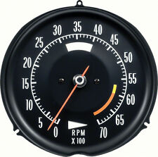 1972-74 Corvette Tach 6000 Red Line