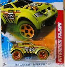 2012 Hot Wheels #187 THRILL RACERS SWAMP RALLY 4/5 ∞ MITSUBISHI PAJERO ∞ SUV