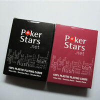 Jumbo Index Poker 100% PLASTIC Deck Playing Cards Poker F8W9 Fa Casino Stan S3A4