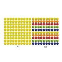 100pcs Toy Gun Bullet Balls for Rival Apollo Zeus Refill Toys Ball Multi-Colors