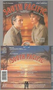 SOUTH PACIFIC bande originale du film CD ALBUM soundtrack MK 42205 made in japan