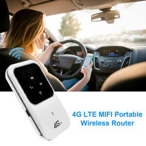4G LTE Mobile Broadband Wireless Router Hotspot SIM Unlocked WiFi Modem