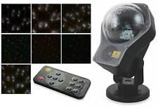 Proiettore Laser 2 Colori Effetto Neve Luci Natalizie da Interno e Esterno e In