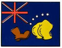 The Simpsons - Bart vs Australia Flag Enamel Pin-IKO1488-IKON COLLECTABLES