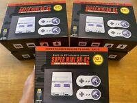 Classic 821 Games Retro Super SNES Handheld Game Mini TV 8 Bit Nintendo Console
