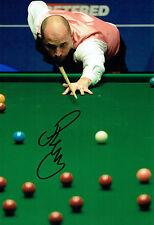 Joe PERRY SIGNED Photo Autograph COA AFTAL Betfred Sheffield Snooker 2016