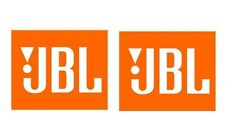 2 pieces JBL Audio car window bumper stickers decals OEM Car Audio Logo