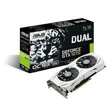 Asus nVidia GeForce GTX 1070 Dual 8GB GDDR5X Graphics Video Card DVI HDMI DP