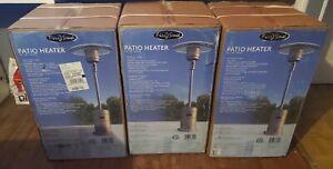 Fire Sense Patio Heater Outdoor Commercial 46,000 BTU Gray