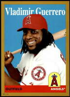 Vladimir Guerrero 2019 Topps Archives 5x7 Gold #29 /10 Angels