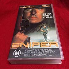 Sniper VHS Video Tape Network Entertainment Billy Zane Tom Berenger