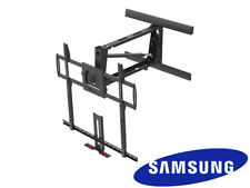 "XL Above Fireplace Pull Down Full Motion Samsung TV Wall Mount 60"" 70"" 75"" 80"""