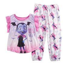 Toddler Girls Imagine Sleepwear Purple W//T Cats 2PC Pajamas Set Sizes 2T /& 4T