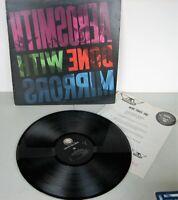 AEROSMITH - DONE WITH MIRRORS - VINYL LP RECORD - 1985 - GEFFEN