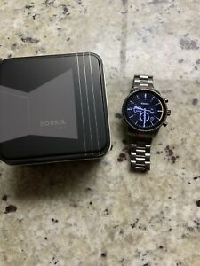Fossil Men's Grey Gen 4 Explorist HR Stainless Steel Touchscreen DW6F1