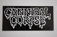 Cannibal Corpse Sticker Decal (123) Death Metal Slayer Metallica Car Bumper