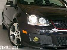 VW MK5 Yellow Fog Light Overlays Tint Vinyl GTI R32 EDM 06-09 Golf/Jetta MKV