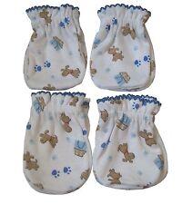 4 Pairs Newborn Baby/infant Anti-scratch Cotton Mittens Gloves---Little Dog