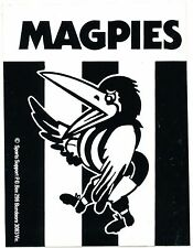 1982 Collingwood Magpies Football Club Sticker Decal