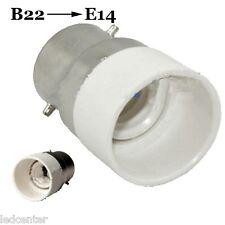 B22 vers E14 Adaptateur douille culot adapter lampe amp