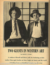Giants Of Western Art - Charlie Russell & Olaf Seltzer