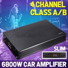 6800W Auto Verstärker Car HiFi Amplifier 4 Kanal Endstufe Bass Boost 12V A/B