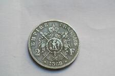 2 FRANCS NAPOLEON III 1868 A TTB